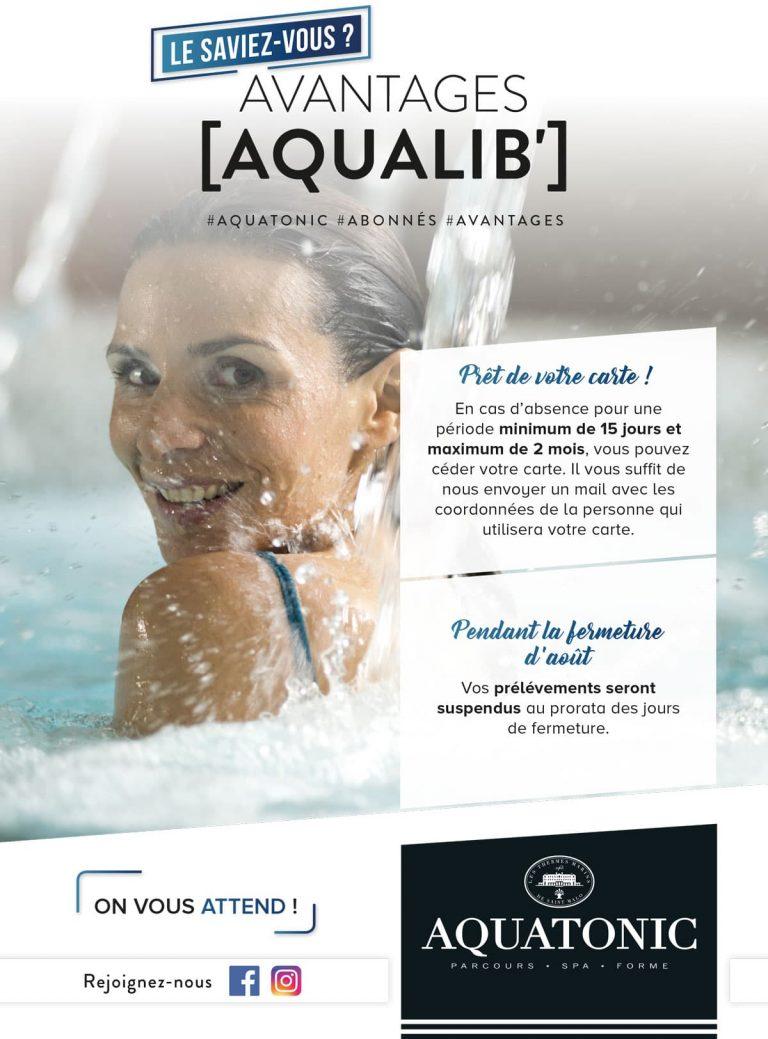 Avantages Aqualib