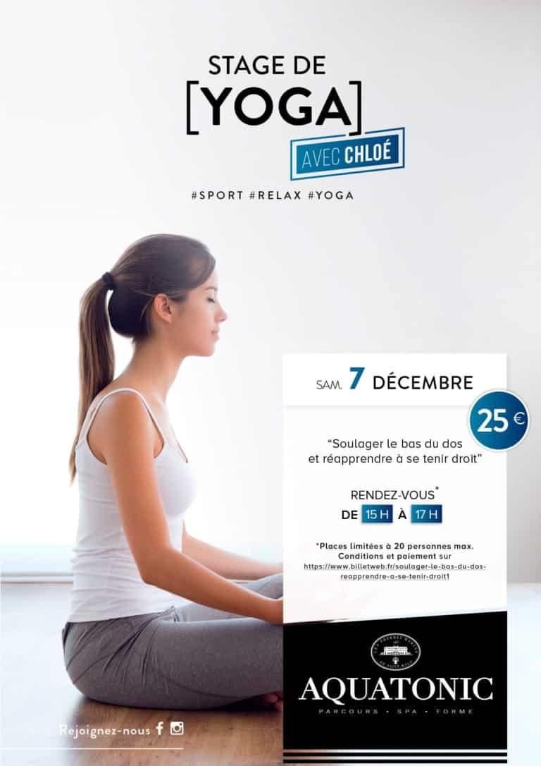 Stage de yoga