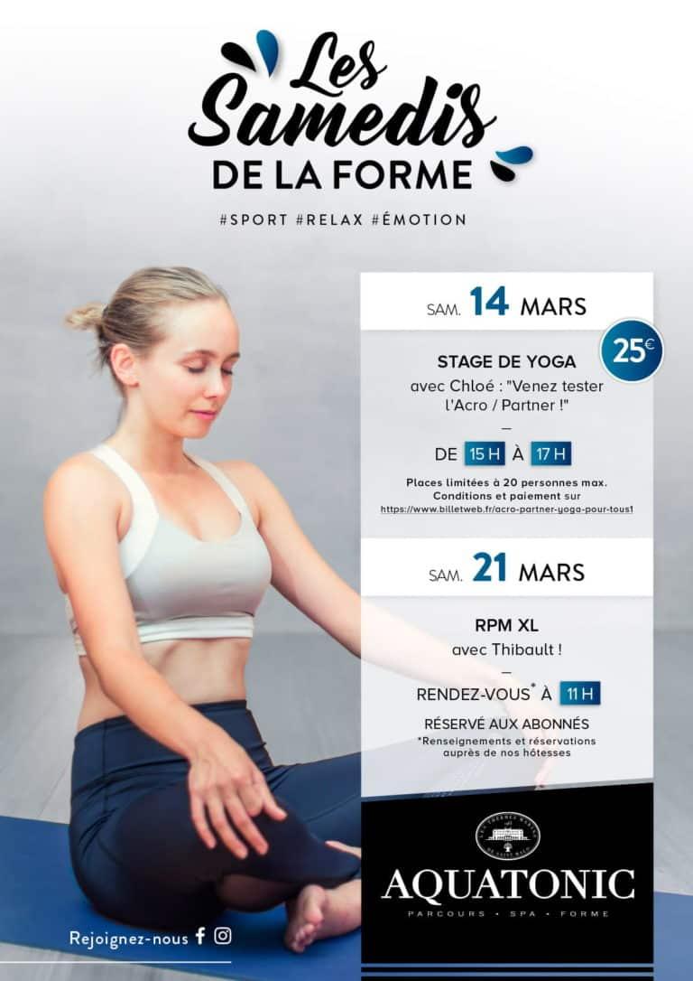 Cours de yoga à Nantes