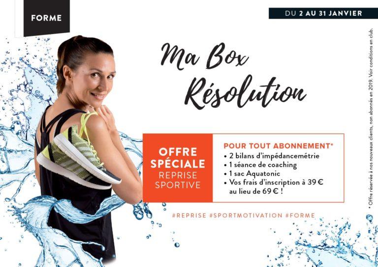 Offre Spéciale reprise Sportive à Nantes