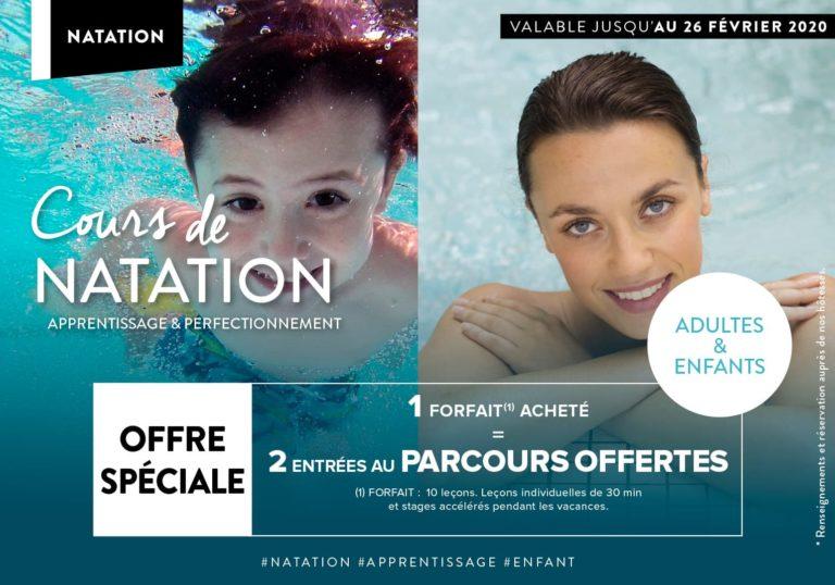 Cours de natation à Nantes Adultes et enfants