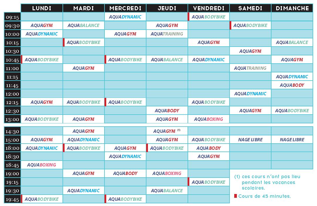 planning aquatonic