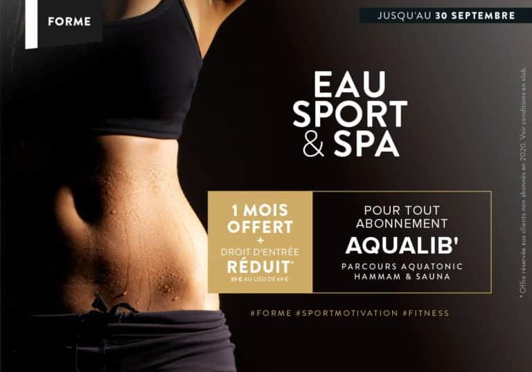 Offre abonnement Sport : 1 mois offert !