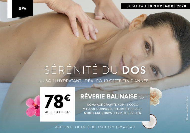 Promo Reverie Balinaise à Nantes