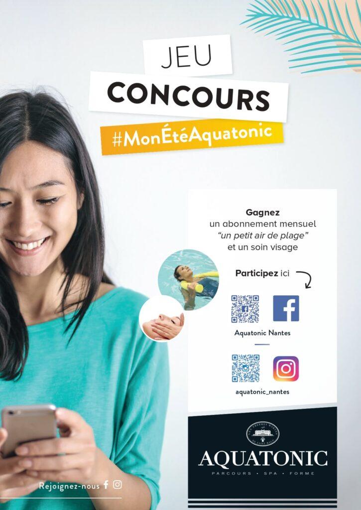 Jeu concours Aquatonic Nantes