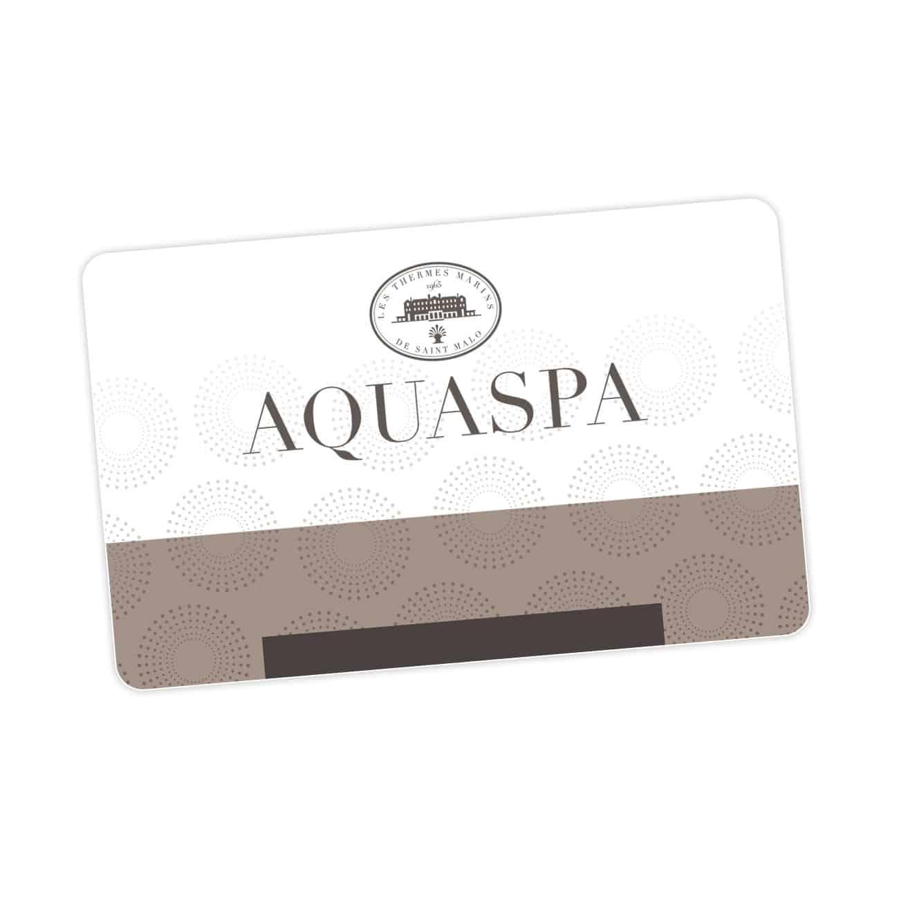carte cadeau val d europe La carte cadeau AQUASPA | Aquatonic Paris Val d'Europe