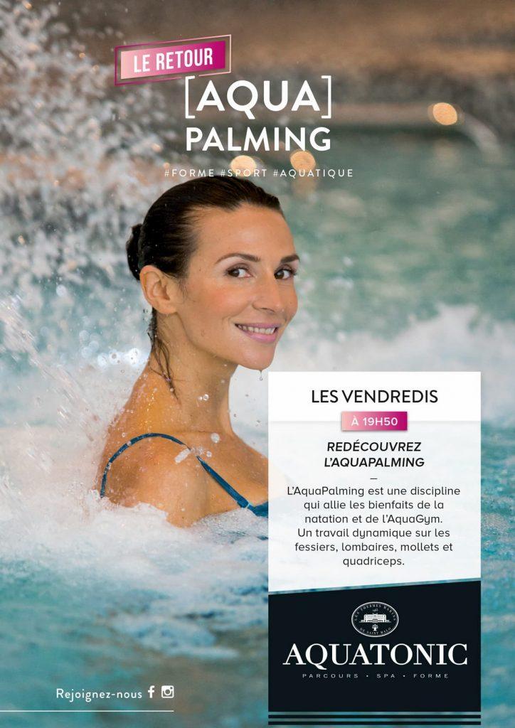 Nouveau : Aqua Palming à Montevrain