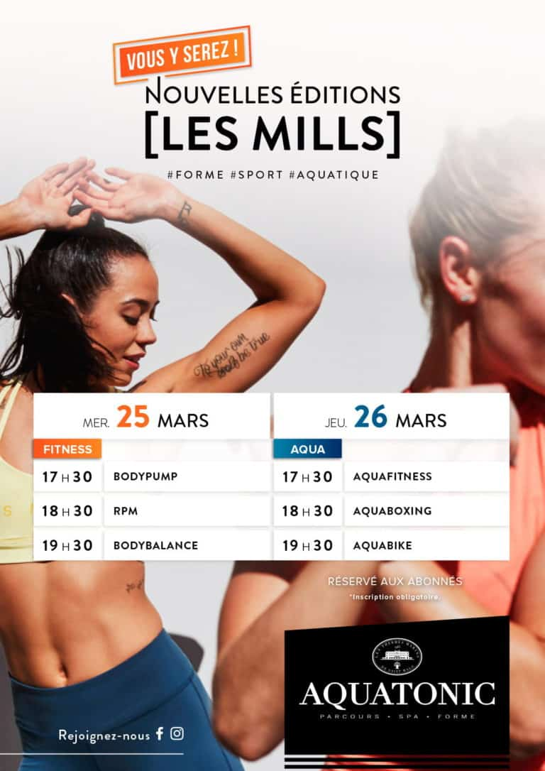 Cours fitness Les Mills Val Europe