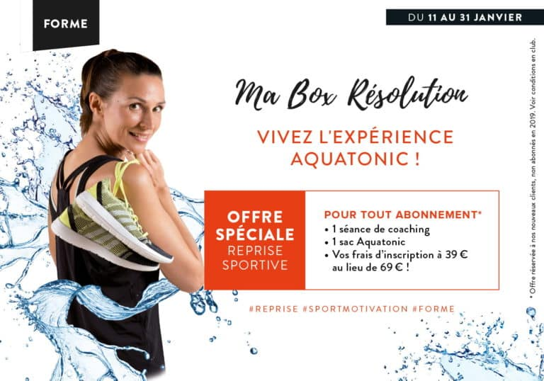 Ma Box résolutions : reprise sportive à Montévrain