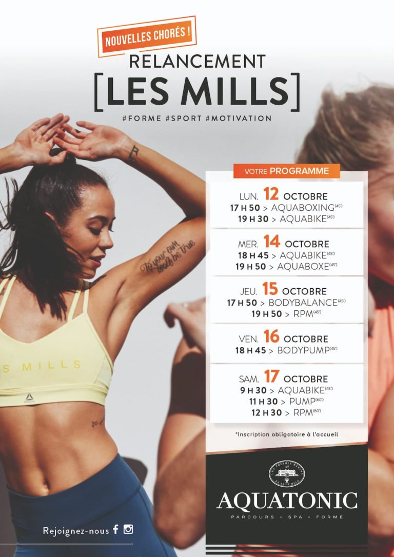 Cours de fitness les Mills Val Europe