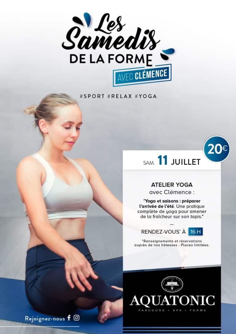Atelier Yoga le 11 juillet à Montevrain