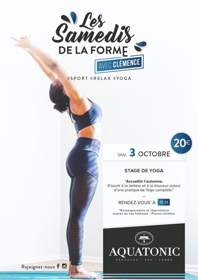 cours de Yoga à Montévrain