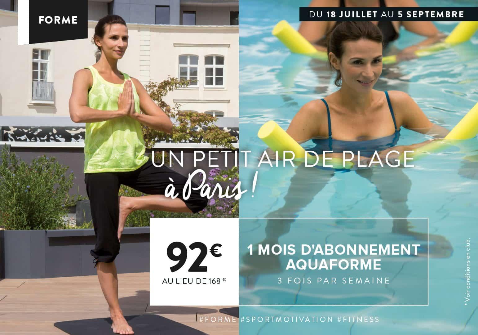 Abonnement Sport pour l'été à Montévrain