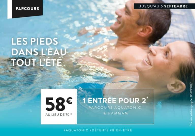 Aquatonic en duo à prix réduit à Paris Val d'europe
