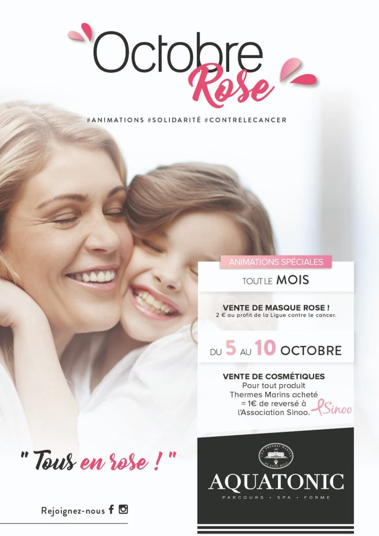 Octobre Rose Val Europe