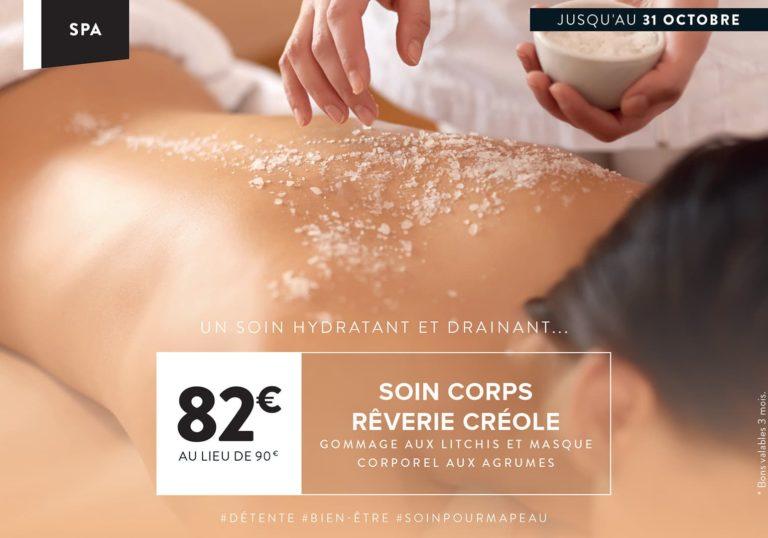 Soin du mois à Paris : Réverie Créole