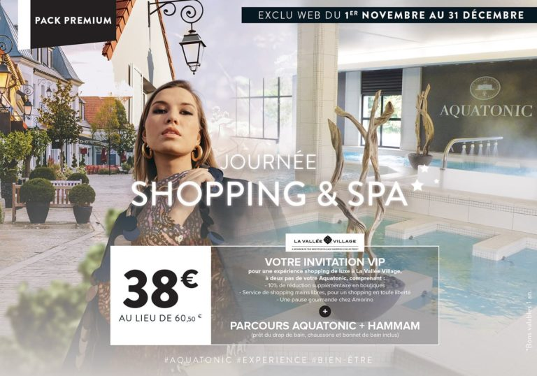 Journée Shopping & Spa