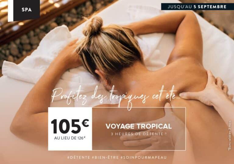 Soin du Mois Spa à Montevrain : Le voyage Tropical